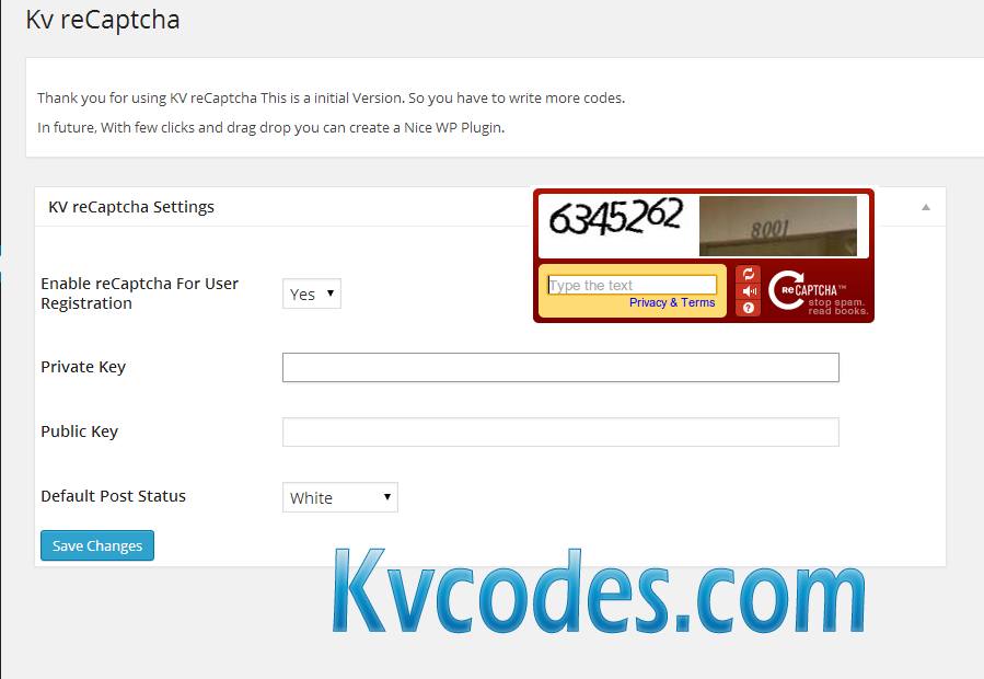recaptcha-wordpress