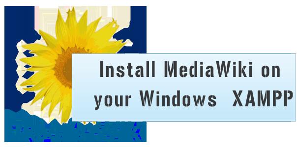 Install-MediaWiki-on-your-Windows--XAMPP